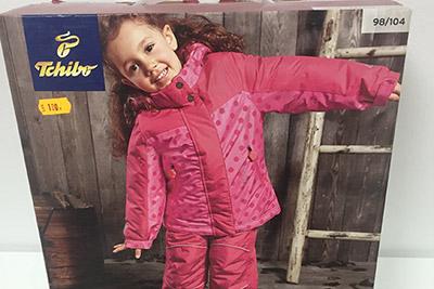 Paleti cu imbracaminte de iarna si ski - marca TCHIBO (TCM) Germania